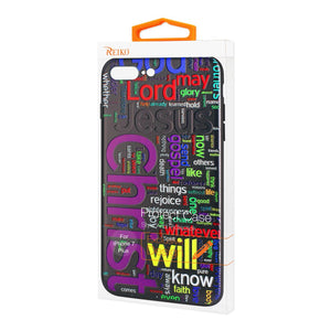 Reiko Iphone 7 Plus Design Tpu Case With Vibrant Word Cloud Jesus Letters