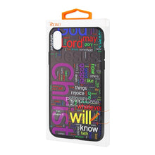 Load image into Gallery viewer, Reiko Iphone X Design Tpu Case With Vibrant Word Cloud Jesus Letters