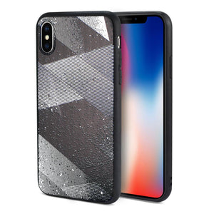 Reiko Iphone X Design Tpu Case With Shades Of Oblique Stripes