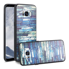 Load image into Gallery viewer, Reiko Samsung Galaxy S8 Embossed Wood Pattern Design Tpu Case With Multi-letter