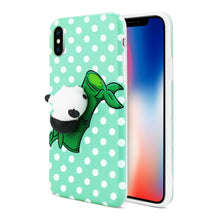 Load image into Gallery viewer, Reiko Iphone X Tpu Design Case With  3d Soft Silicone Poke Squishy Panda