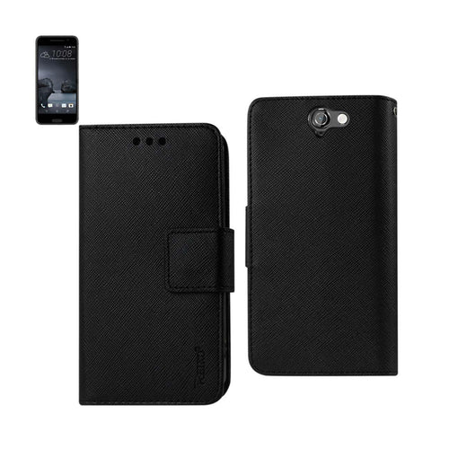 Reiko Htc One A9 3-in-1 Wallet Case In Black