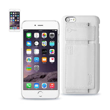 Load image into Gallery viewer, Reiko Iphone 6 Rfid Genuine Leather Case Protection And Key Holder In Ivory