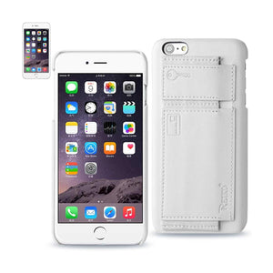 Reiko Iphone 6 Rfid Genuine Leather Case Protection And Key Holder In Ivory