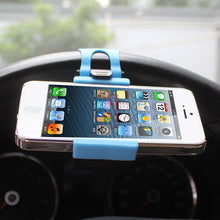 Load image into Gallery viewer, Reiko Phone Socket Holder In Blue