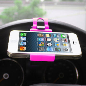 Reiko Phone Socket Holder In Hot Pink