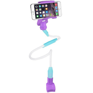 Reiko Universal Long Flexible Arms Phone Holder In Purple