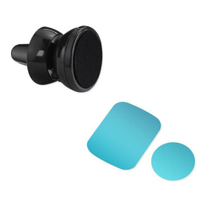 Reiko Universal Air Vent Magnetic Car Mount Phone Holder In Black