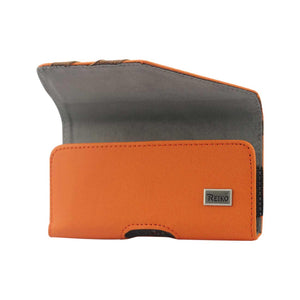 Horizontal Pouch For Samsung Galaxy S Iii I9300 Twill Patter Orange