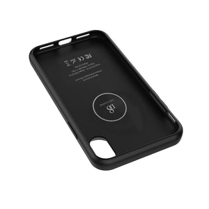 Iphone X Battery Case With Qi Wireless Charging, Support Lightning Headphone, Real 3000mah Rechargeable Extended Protective Battery Charging Case For Iphone X In Black