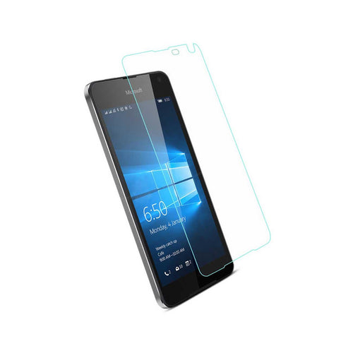 Reiko Microsoft Lumia 650 Tempered Glass Screen Protector In Clear