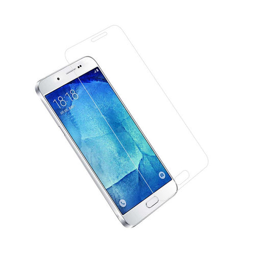 Reiko Samsung Galaxy A8 Tempered Glass Screen Protector In Clear