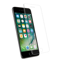 Load image into Gallery viewer, Reiko Iphone 7 Plus 3d Curved Full Coverage Tempered Glass Screen Protector In Clear