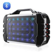 Load image into Gallery viewer, Universal Boombox Bluetooth Neon Colored Speaker In Black