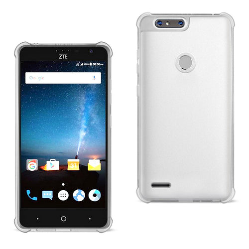 Reiko Zte  sequoia Clear Bumper Case With Air Cushion Protection In Clear