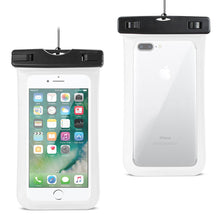 Load image into Gallery viewer, Reiko Waterproof Case For Iphone 6 Plus- 6s Plus- 7 Plus Or 5.5 Inch Devices With Wrist Strap In White