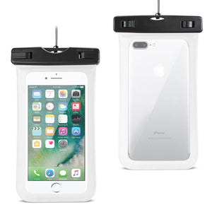 Reiko Waterproof Case For Iphone 6 Plus- 6s Plus- 7 Plus Or 5.5 Inch Devices With Wrist Strap In White