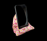 Daisies on Pink Cell Phone Pillow/ Stand