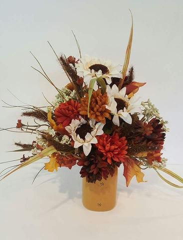 Autumn Silk Flower Arrangement