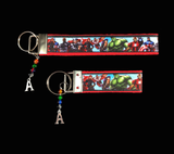 A is for Avengers Wristlet Keychain