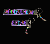 Be Kind Wristlet Keychain