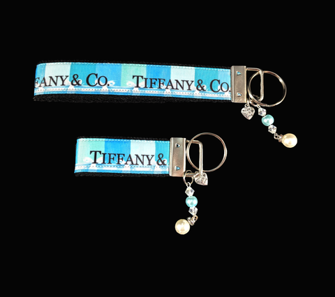 Breakfast at Tiffany's Wristlet Keychain