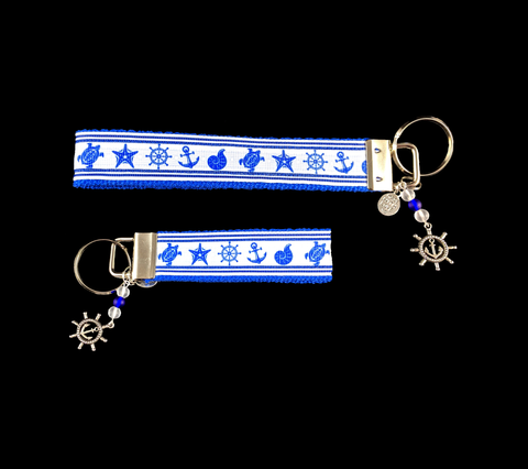 Port and Starboard Wristlet Keychaon