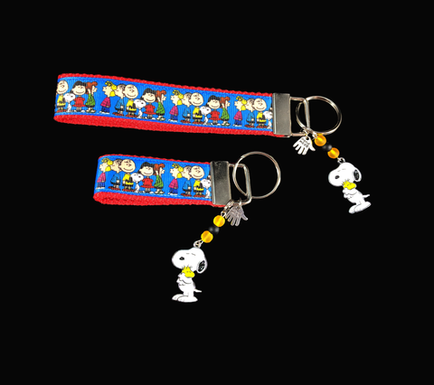 Charlie Brown Ribbon Key-chain