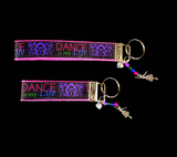 Dance Is My Life Wristlet Keychain