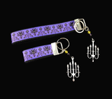 Disney's Haunted Mansion Wristlet Keychain