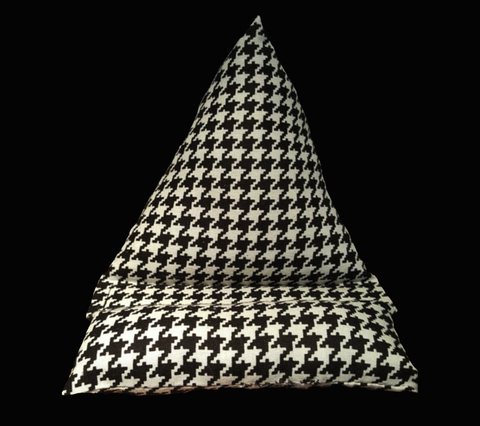 Houndstooth Fabric Cell Phone Holder