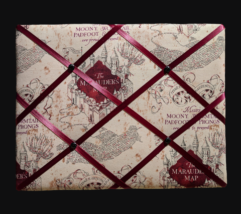 Harry Potter Maurauder's Map French Picture Board