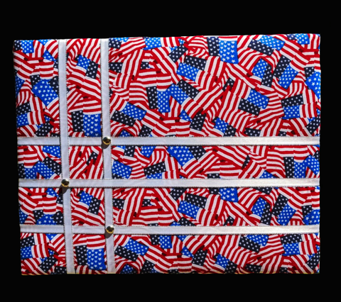 US Flag French Memory Board