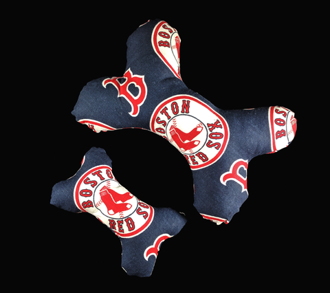 Boston Red Sox Squeaky Bone Dog Toy
