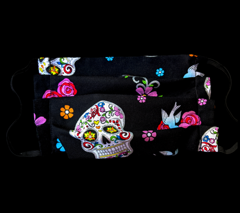 Day of the Dead, Sugar Skull Face Mask