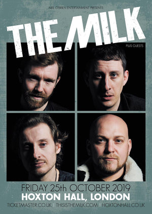 the milk live at hoxton hall poster