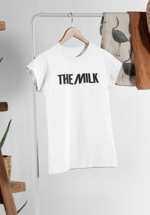 The Milk Official Fitted Ladies T Shirt