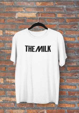 The Milk Official White T Shirt