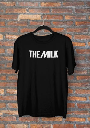 The Milk Official Black T Shirt