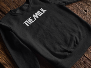 The Milk Official Sweatshirt Black