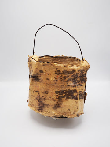 Janet Bromley, Wire and Paperbark Basket, 2020