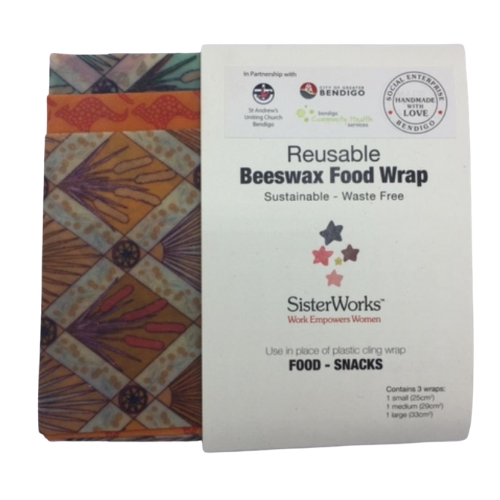 SisterWorks: Beeswax Food Wrap