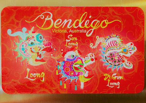 Bendigo Dragon Magnet