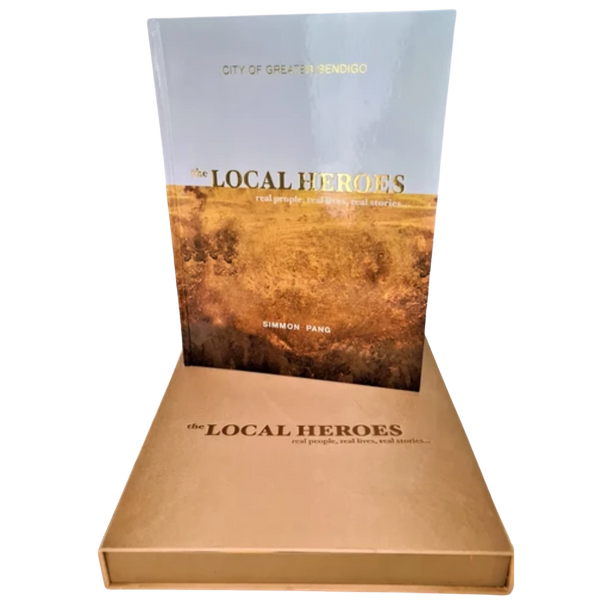Local Heroes Large Book - $100 DISCOUNT