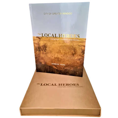 Local Heroes Large Book: $100 DISCOUNT (PICK UP ONLY)