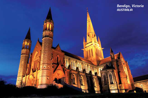 Postcard - Sacred Heart Cathedral