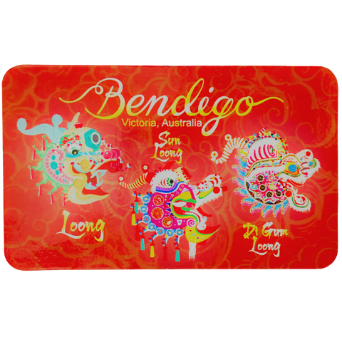 Magnet: Bendigo Dragon