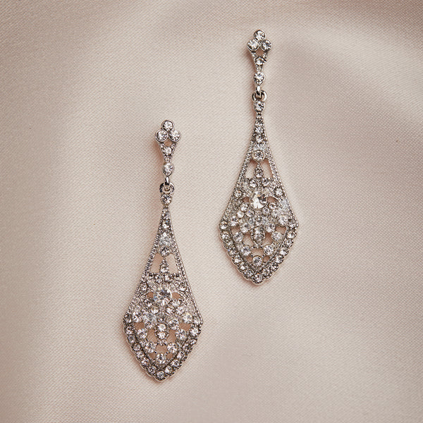 New Art Deco Drop Earrings