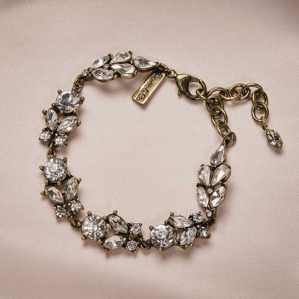 Antique Diamante Bracelet