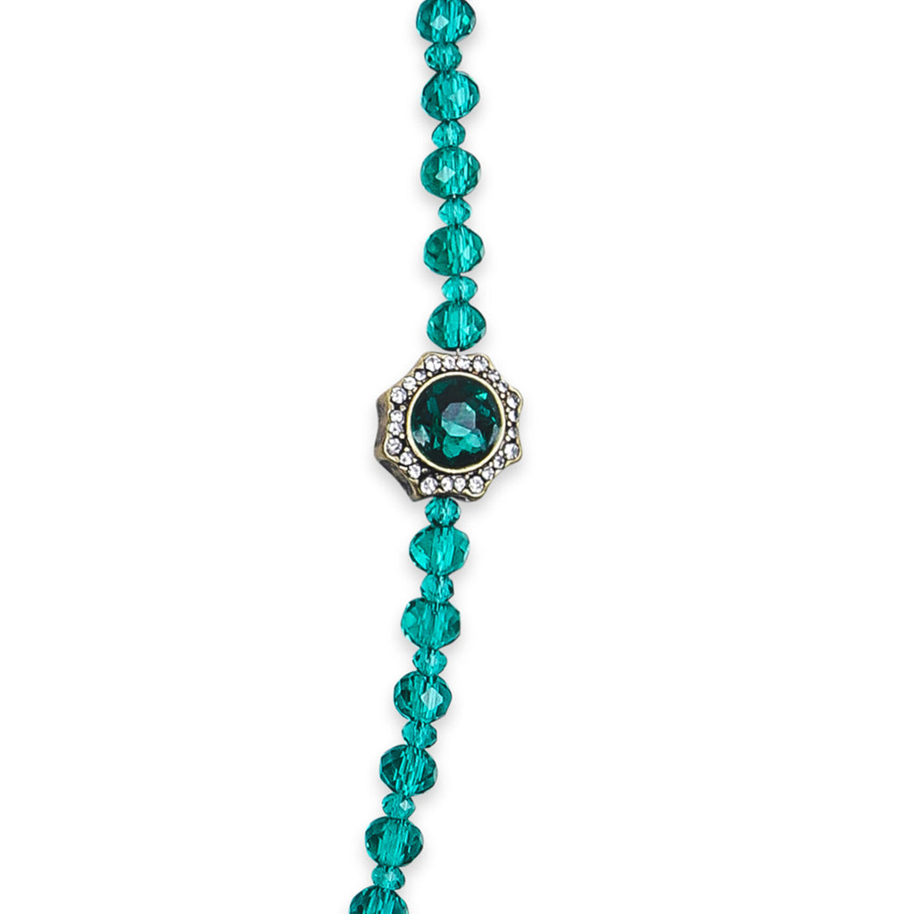 Elizabeth Beaded Jewel Necklace